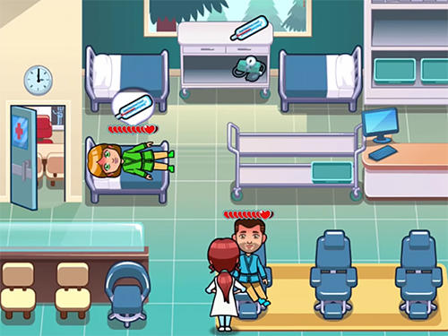 Screenshots von Hospital dash: Simulator game für Android-Tablet, Smartphone.