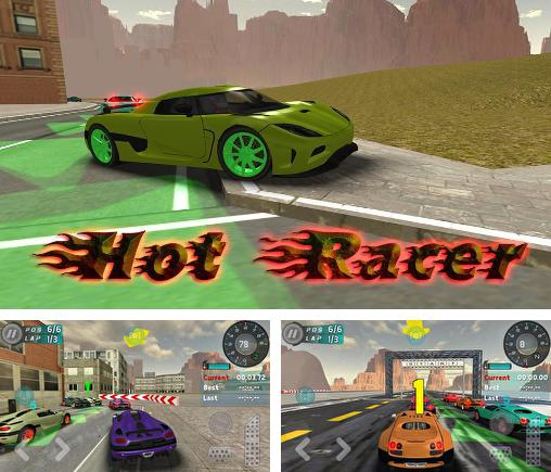 In addition to the game Project JDM: Drift underground for Android phones and tablets, you can also download Hot racer for free.