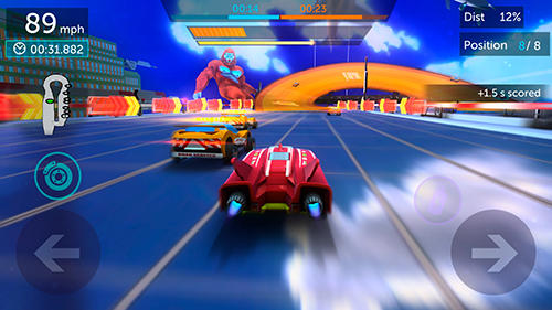 Screenshots von Hot wheels infinite loop für Android-Tablet, Smartphone.