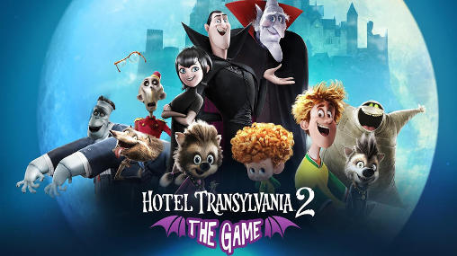 Hotel transylvania 2: The game poster