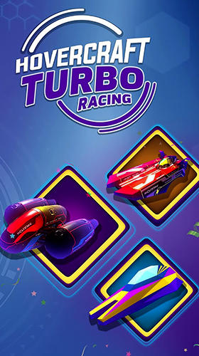 Hovercraft turbo racing poster