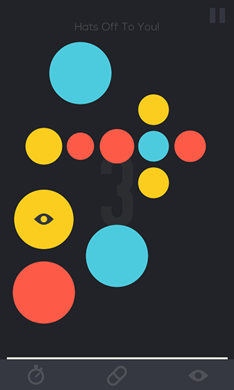 Screenshots von Huemory: Colors. Dots. Memory für Android-Tablet, Smartphone.