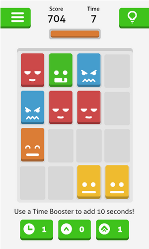 Screenshots von Hues game: Threes powered up! für Android-Tablet, Smartphone.