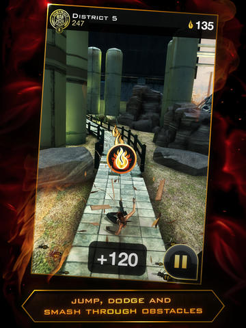 Screenshots do Hunger games: Panem run - Perigoso para tablet e celular Android.