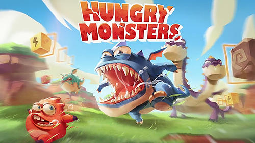 Hungry monsters! обложка
