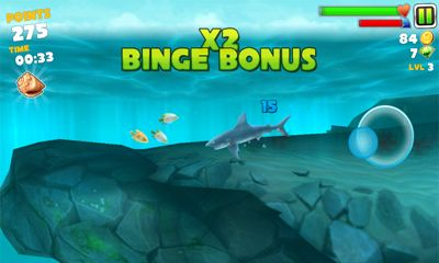 Hungry Shark Evolution für Android spielen. Spiel Hungriger Hai Evolution kostenloser Download.