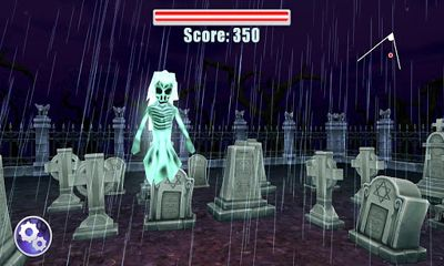 Screenshots of the Hunted Graves for Android tablet, phone.