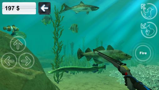 Гра Hunter underwater spearfishing на Android - повна версія.