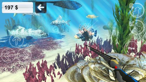 Геймплей Hunter underwater spearfishing для Android телефону.