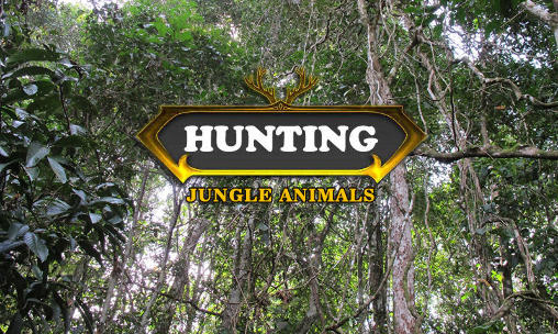 Hunting: Jungle animals poster