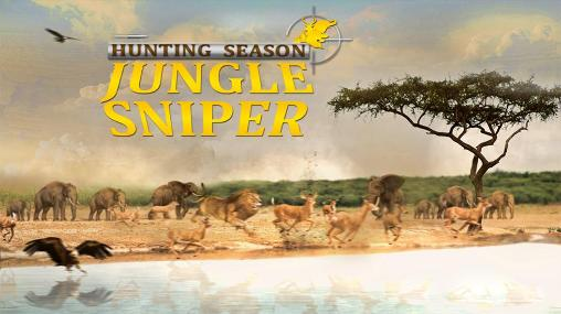 Hunting season: Jungle sniper poster