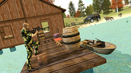 Screenshots von Hunting simulator 4x4 für Android-Tablet, Smartphone.