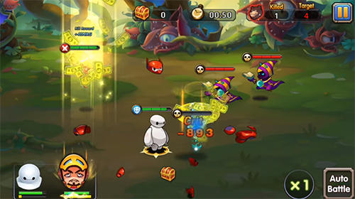 Hyper warriors: Mutant heroes screenshot 2