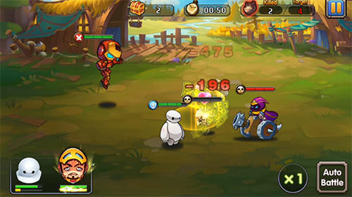 Hyper warriors: Mutant heroes screenshot 3