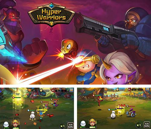 Hyper warriors: Mutant heroes