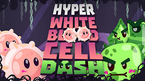 Hyper white blood cell dash poster