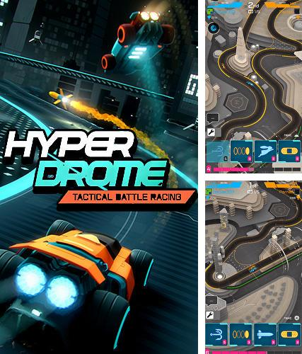 Hyperdrome: Tactical battle racing