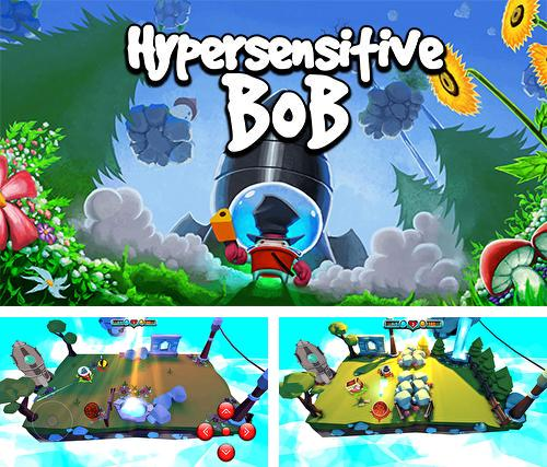 In addition to the game Pac-Man hats 2 for Android phones and tablets, you can also download Hypersensitive Bob for free.