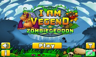 I Am Vegend Zombiegeddon poster