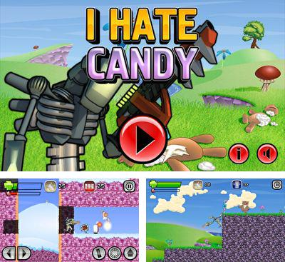 In addition to the game Combat cats for Android phones and tablets, you can also download I hate candy for free.