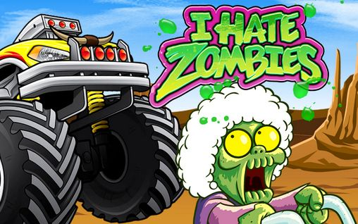 I hate zombies poster