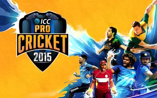 ICC pro cricket 2015 poster