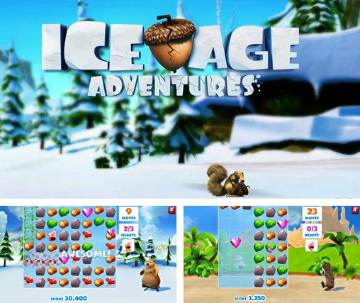 In addition to the game Ice Age Village for Android phones and tablets, you can also download Ice age. Adventures. for free.