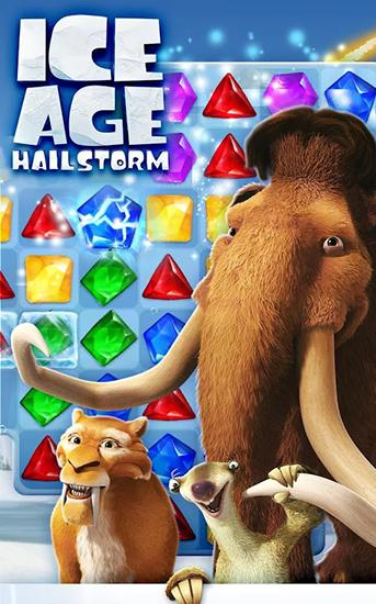 Ice age: Hailstorm poster