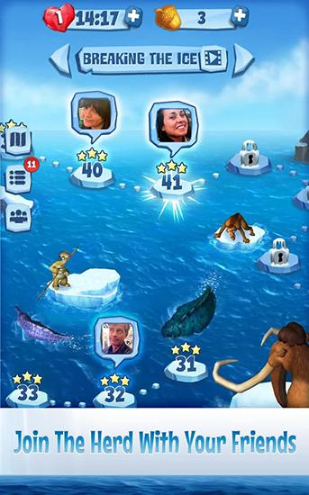 Screenshots von Ice age: Hailstorm für Android-Tablet, Smartphone.