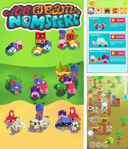 In addition to the game Tap Tap Fighter for Android phones and tablets, you can also download Ice cream nomsters for free.