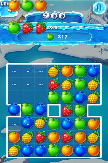 Screenshots von Ice fruit journey für Android-Tablet, Smartphone.