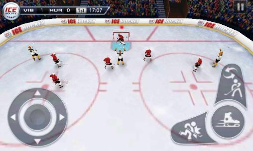 Screenshots von Ice hockey für Android-Tablet, Smartphone.