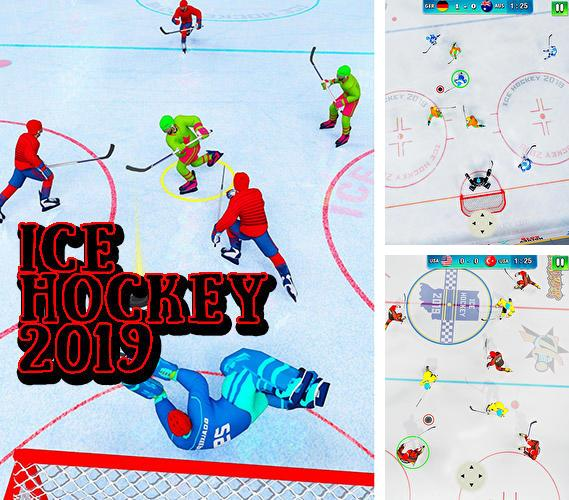En plus du jeu Course en spiral pour téléphones et tablettes Android, vous pouvez aussi télécharger gratuitement Hockey 2019: Ligue classique d'hiver, Ice hockey 2019: Classic winter league challenges.