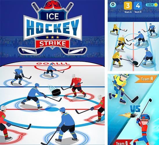 Ice hockey strike