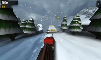 Screenshots of the Ice Road Truckers for Android tablet, phone.