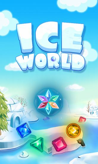 Ice world poster