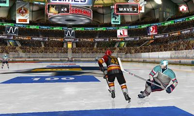Screenshots von Icebreaker Hockey für Android-Tablet, Smartphone.