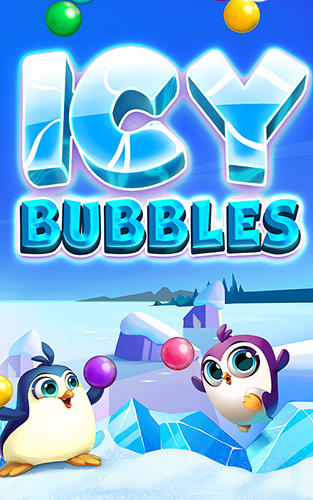 Icy bubbles poster