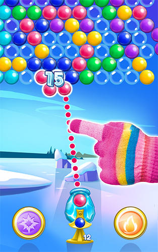 Icy bubbles screenshot 5