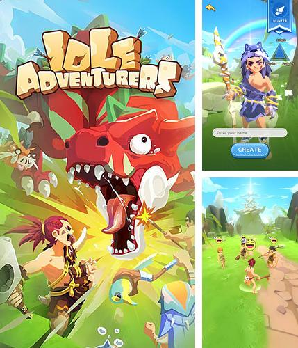 In addition to the game Clone evolution: War of the mutants for Android phones and tablets, you can also download Idle adventurers for free.