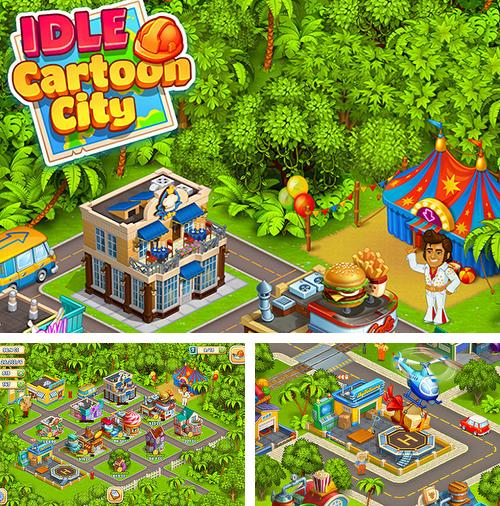 Idle cartoon city