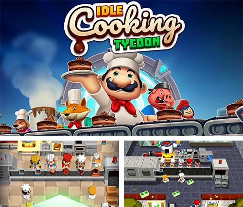Idle cooking tycoon: Tap chef