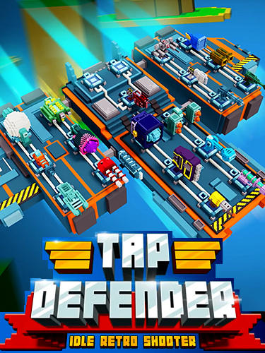 Idle defender: Tap retro shooter poster
