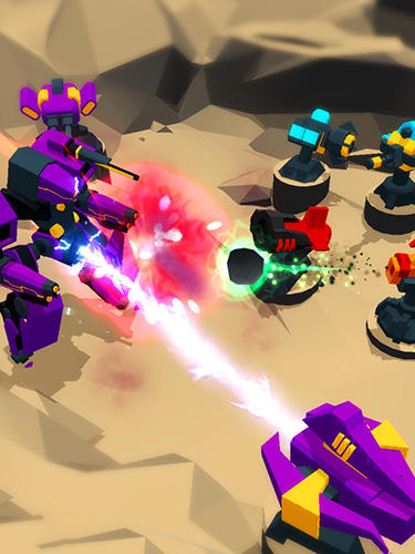 Screenshots do Idle defense: Galaxy war - Perigoso para tablet e celular Android.