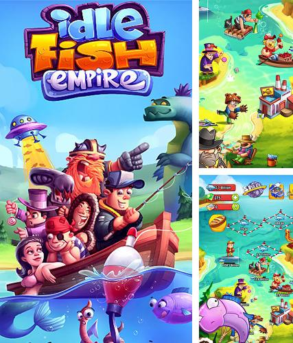 Idle fish empire: Clicker and simulator