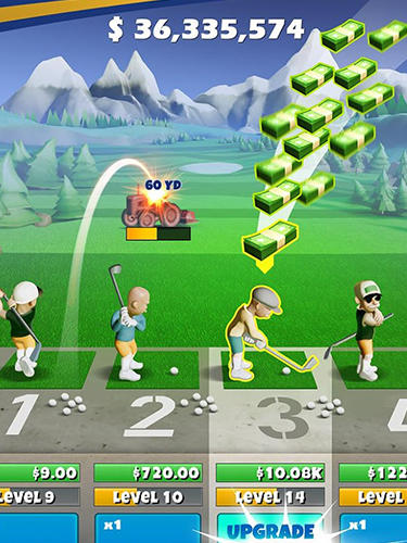 Idle golf screenshot 2