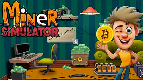 Idle miner simulator: Tap tap bitcoin tycoon обложка
