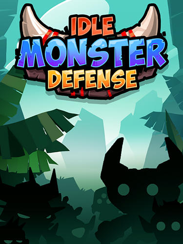Idle monster defense poster