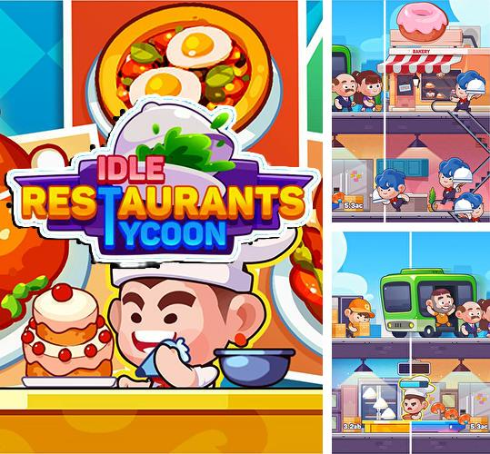 Idle restaurant tycoon: Idle cooking and restaurant
