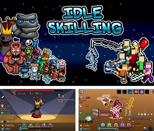 Idle skilling: Incremental RPG adventure